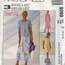 McCall's Sewing Pattern 9269 Misses Size 16-20 3-Hour Sleeveless Dress Short Sleeve Jacket