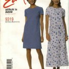 McCall's Sewing Pattern 9319 Misses Size 6-12 Easy Classic A-Line Long Short Dress