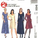McCall's Sewing Pattern 9456 Misses Size 10-14 2-Hour Classic Princess Seam Dress