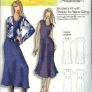 Butterick Sewing Pattern 0457 5049 Misses Size 3-16 Easy Loose Fitting Dress Blouse Jacket