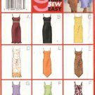 Butterick Sewing Pattern 3020 Misses Size 14-18 Easy Lined Slip Straight Dress Sundress