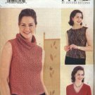 Butterick Sewing Pattern 3124 B3124 Misses Size 10-14 Today's Fit Sandra Betzina Knit Tops