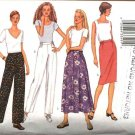 Butterick Sewing Pattern 3133 B3133 Misses Size 8-12 Easy Classic Straight Flared Skirts Pants
