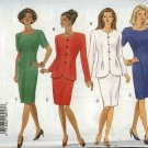 Butterick Sewing Pattern 3362 Misses Size 12-16 Easy Short Sleeve Straight Dress Button Front Jacket