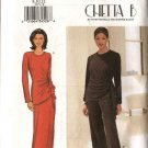 Butterick Sewing Pattern 3371 Misses Size 20-24 Easy Chetta B Formal Knit Top Long Skirt Pants