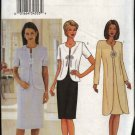 Butterick Sewing Pattern 3380 Misses Size 20-22-24 Easy Sleeveless Dress Jacket Duster