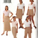 Butterick Sewing Pattern 3397 Misses Size 14-18 Easy Classic A-Line Skirt Shorts Cropped Long  Pants