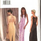 Butterick Sewing Pattern 3450 Misses Size 12-16 Easy Formal Evening Prom Long Straight Gown Dress