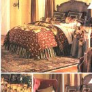 Butterick Sewing Pattern 3559 Home Decoration Pillows Cushions Dust Ruffle Tablecloth Duvet Cover