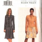 Butterick Sewing Pattern 3576 Misses Size 6-8-10 Easy Button Front Long Sleeve Jacket Flared Skirt