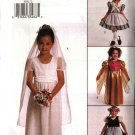Butterick Sewing Pattern 3592 Girls Size 2-5 Easy Costumes Bride Princess Dutch Girl Heidi