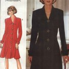 Butterick Sewing Pattern 3751 Misses Size 6-10 Easy Jessica Howard Button Front Dress Tunic Skirt
