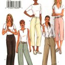 Butterick Sewing Pattern 3791 Misses Size 6-8-10 Easy Classic Fitted Cropped Cuffed Pants