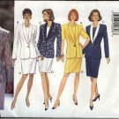 Butterick Sewing Pattern 3845 Misses Size 8-10-12 Easy Classic Jacket Straight Dress Suit