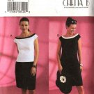 Butterick Sewing Pattern 3863 Misses Size 6-8-10 Chetta B Lined Fitted Top Straight Skirt Dress