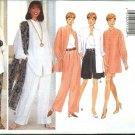 Butterick Sewing Pattern 3906 Misses Size 6-8-10 Wardrobe Shirt Shorts Skirt Pants Scarf