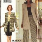 Butterick Sewing Pattern 3932 Misses Size 6-8-10 Easy Wardrobe Jacket Straight Skirt Pants Top Shell