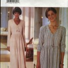Butterick Sewing Pattern 3934 Misses Size 6-8-10 Easy Raised Waist Gathered Skirt Pullover Dress