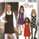 Butterick Sewing Pattern 3960 Girls Plus Size 10½-16½  Easy  Jumper Variations