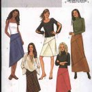 Butterick Sewing Pattern 3972 Misses Size 6-8-10 Easy  A-Line Seamed Short Long Skirts