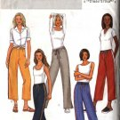 Butterick Sewing Pattern 3973 Misses Size 6-14 Easy Pull on Workout Exercise Long Cropped Pants