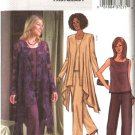 Butterick Sewing Pattern 4022 Misses Size 14-18 Easy Loose Fitting Jacket Sleeveless Top Shell Pants