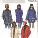 Butterick Sewing Pattern 4029 Misses Size 18-20-22 Easy Fleece Hooded Button Front Coat Jacket