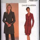 Butterick Sewing Pattern 4033 Misses Size 14-16-18 Long Jacket Straight Skirt Pants David Warren