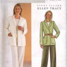 Butterick Sewing Pattern 4036 Misses Size 6-8-10 Self Lined Jacket Fitted Straight Pants