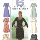 Butterick Sewing Pattern 4063 Misses Size 18-20-22 Easy Empire Raised Waist Dress