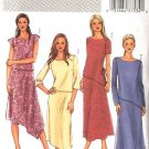 Butterick Sewing Pattern 4064 Misses Size 8-10-12 Easy Pullover Top A-Line Skirt 2-Piece Dress