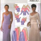 Butterick Sewing Pattern 4069 Misses Size 12-14-16 Formal Evening Prom Top Long Skirt 2-Piece Dress