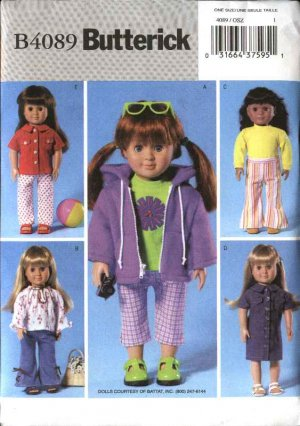 Doll Clothes - Vintage Sewing Patterns
