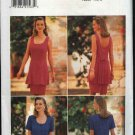 Butterick Sewing Pattern 3996 Misses Size 6-8-10 Sleeveless Short Sleeve Tunic Straight Skirt