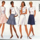 Butterick Sewing Pattern 4016 Misses 6-8-10-12 Easy Flared Mock Wrap A-Line Skirts