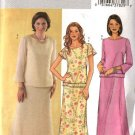 Butterick Sewing Pattern 4130 Misses Size 8-10-12 Easy Pullover Lined Tops Long Skirts