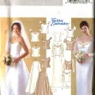 Butterick Sewing Pattern 4131 Misses Size 18-22 Wedding Bridal 2-Piece Dress Gown Formal Top Skirt