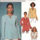 Butterick Sewing Pattern 4133 Misses Size 6-14 Easy Pullover Long Sleeve Top Tunic