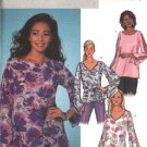 Butterick Sewing Pattern 4134 Misses Size 6-14 Easy Pullover Long Sleeve Top Tunic Belt