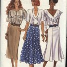 Butterick Sewing Pattern 4134 Misses Size  12-14-16 Easy Fitted Straight Flared Skirts