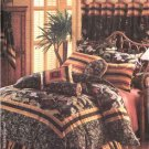 Butterick Sewing Pattern 4150 Waverly® Bedroom Ensemble Duvet Cover Bed Skirt Pillows Neckroll