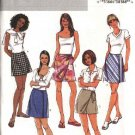 Butterick Sewing Pattern 4192 Misses Size 6-8-10 Easy Short Wrap Skirt Skorts