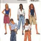 Butterick Sewing Pattern 4193 Misses Size 6-14 Easy Short Long Straight Skirt Cropped Pants Shorts