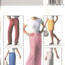 Butterick Sewing Pattern 4194 Misses Size 6-14 Easy A-Line Short Long Skirt Cropped Pants Shorts