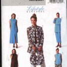 Butterick Sewing Pattern 4195 P346 Misses Size 20-22-24 Easy Wardrobe Jacket Dress Pants Top