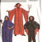 "Butterick Sewing Pattern 4259 Mens Misses Unisex Chest Size 30-40""  Devil Vampire Gothic Costumes"