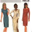 Butterick Sewing Pattern 4283 Misses Size 6-12 Easy Long Short Sleeve Straight Dress
