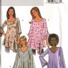 Butterick Sewing Pattern 4286 Misses Size 4-14 Easy Loose-Fitting Bias Pullover Tops