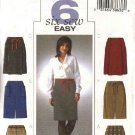 Butterick Sewing Pattern 4291 Misses Size 14-16-18-20 Easy Straight Skirts