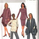 Butterick Sewing Pattern 4297 Misses Size 4-14 Easy Wardrobe Poncho Jacket Top Skirt Pants